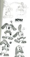 Oswald doodles by DisneyGirl52