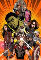 Avengers - Age Of Ultron by Spidertof
