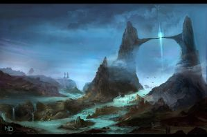 Gateway to Utopia by Nele-Diel