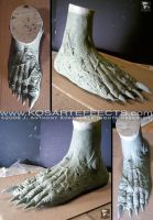 SATANIC PANIC Feet Sculpts by KOSARTeffects
