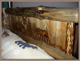 Headboard detail by Synpainter