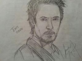 Robert Downey Jr: Tony Stark by Drawception