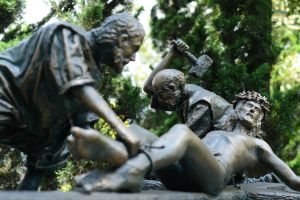 statue of memories.. by RayChristian