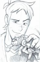 Voltron: Legendary Defender - Lance Sketch by furrychaos
