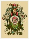Princess Mononoke by shobey1kanoby