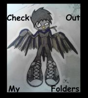 Check out my Folders :D by Nightlovesbirds