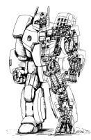 Warmech 3: Crusader by Prime-Mover