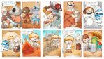 Topps Galactic Files Sketch Cards (11-20) by ninaws