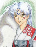 And now its Sesshomaru by m3ru