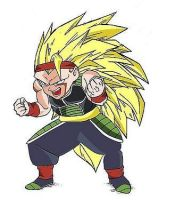 Bardock Jr Super Saiyan 3 by pabex