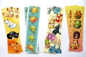 cute bookmarks by michellescribbles