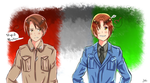 The two Italies by HissingCheese