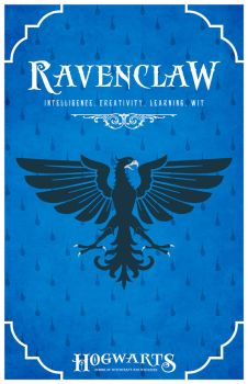 House Ravenclaw Poster by LiquidSoulDesign