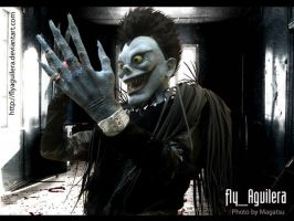 death note ryuk by flyaguilera