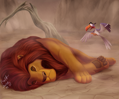 Mufasa`s Death by FrolJoker