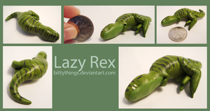 Lazy Rex - SOLD by Bittythings