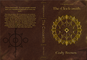 The Clocksmith official cover art by DeviBrigard