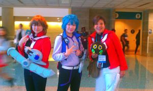 Anime EXPO, 2012: Two Judais, and a Johan by MewStar13