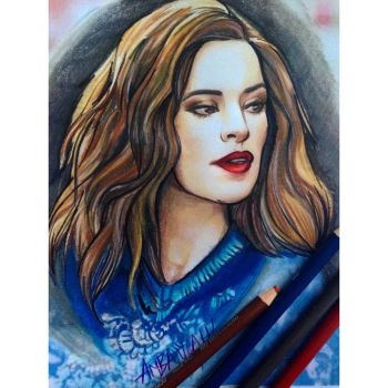 Hayley Atwell Primscolor Portrait by ambayeahart