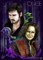 .: Rumpelstilskin and Captain Hook :. by CaptainPinsel