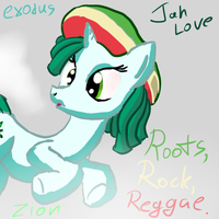 Rasta Pony by Snus-kun