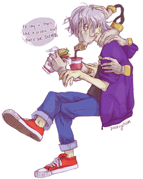 Shigaraki wants to live a quiet life by pastryotism
