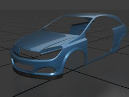 Opel Astra 4 WIP by prox3h