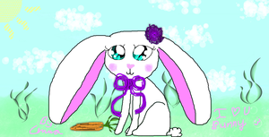 DA Muro Darwing - A bunny for Bunny by InvaderBlitzwing