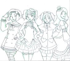 Lovely Ladies of the Court v1 by ChibiIlliterate1