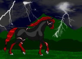 Demon in the storm by My-Inner-Demon-676