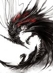 Black dragon by sakaya0313