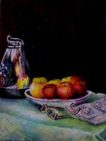 Apples and Oranges by JoyT