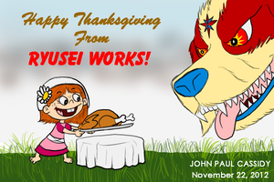 Happy Thanksgiving 2012 by ryuuseipro