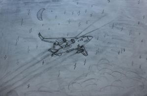 Old sketch - Cargo jet by LongBow986