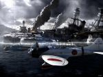 Pearl Harbor on Sun day by torrikabe