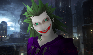 Why so serious ? by CaxceberXVI