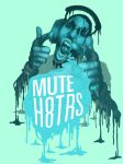Mute H8trs t-shirt design when there printed ill by musicalinclined