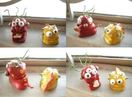 window monsters by Dinuguan