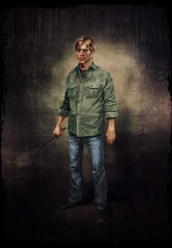 Silent Hill: Downpour. Murphy Pendleton by StMalKavian