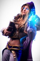 Jaina Proudmoore - My magic will tear you apart! by LeitNiakris