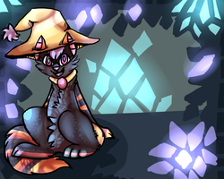 Magicall Crystal Cave by MiriCat