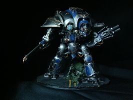 Imperial Knight - Freeblade - Binding of Gauis by Quiet-Lamp