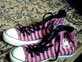 Converses by shannon-rogers