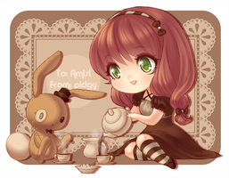 Tea for Two by Sireinita