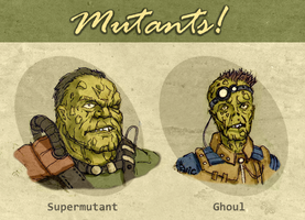 Fallout mutants by ilya-b