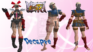 Decapre Pack public by DragonLord720