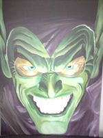 Alex Ross Green Goblin by Spidey0107