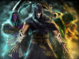 Mortal Kombat Assassins II. by LetticiaMaer