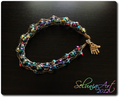 Rainbow Bracelet by Selunia