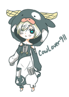 CowLover911 freebie by XHolyKnightAgrias